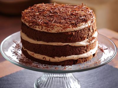 摩卡戚風蛋糕