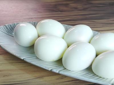 【快速剝蛋殼】免顧火水煮蛋