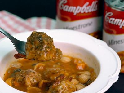 義式肉丸蔬菜湯