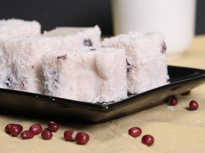 紅豆雪花糕